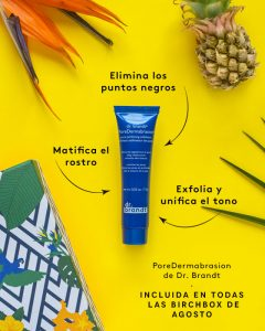 Exfoliante facial birchbox