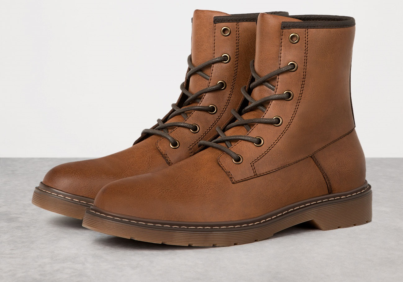 Botas pull and bear hombre