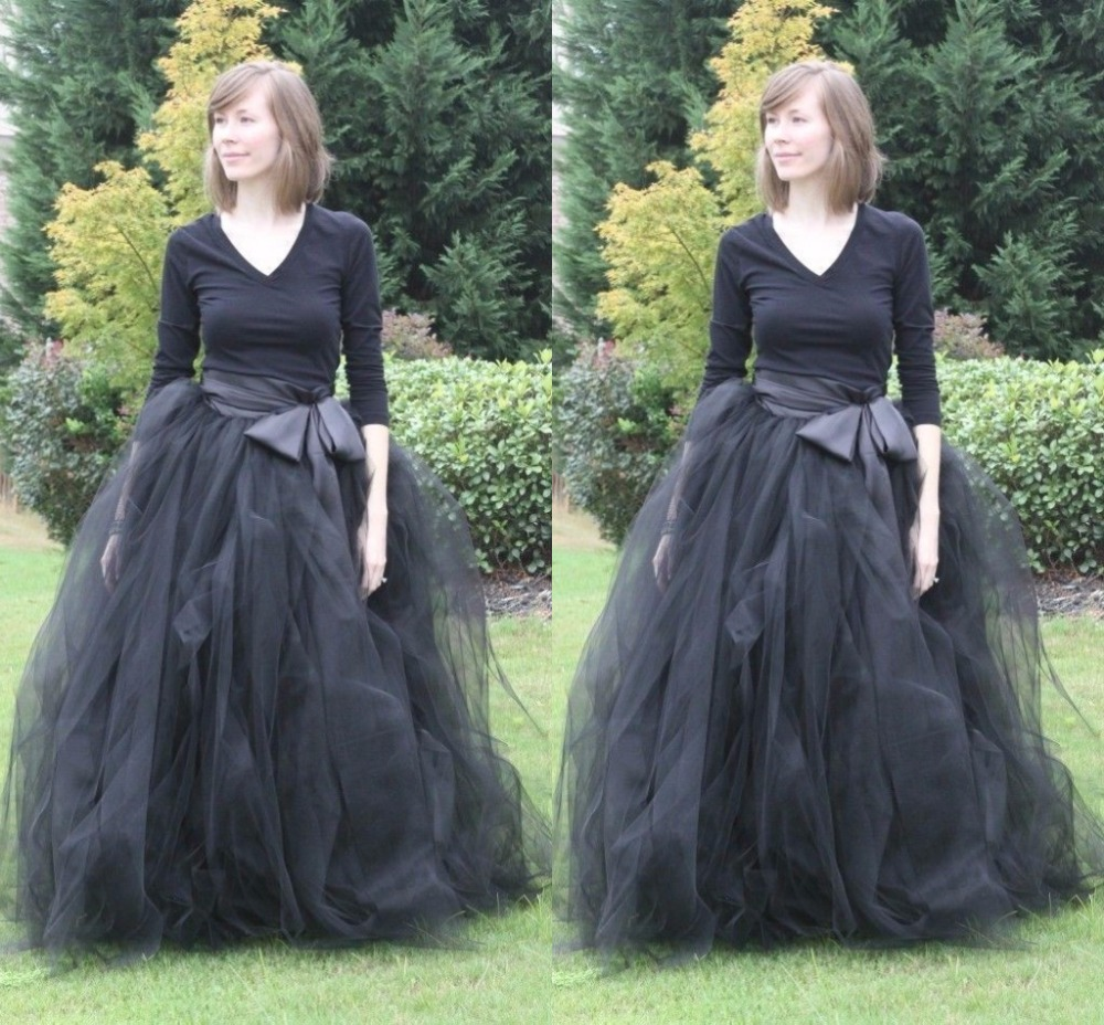vintage-font-b-black-b-font-ball-gowns-tulle-long-font-b-skirts-b-font-with