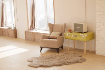 elegir la alfombra para la oficina en casa