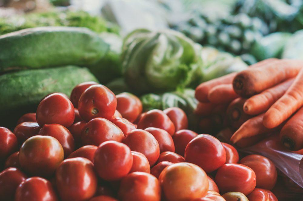 verdura, hortalizas, tomates, dieta, light