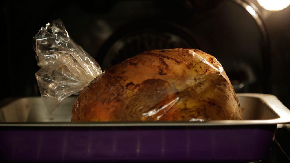 pollo horno cocinar bolsa nutrientes