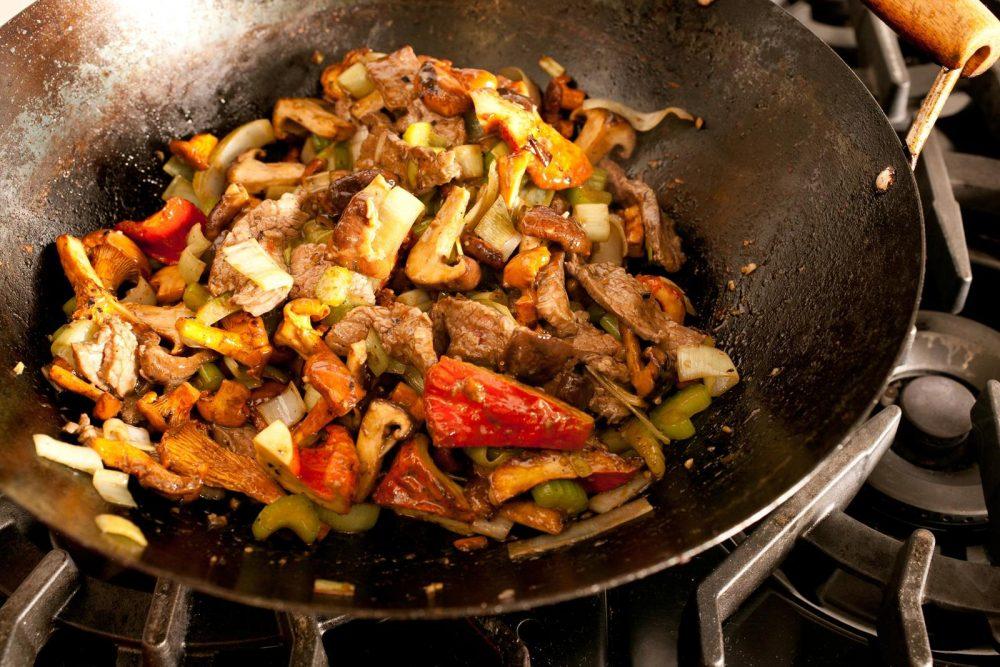salteado cocina rápida saludable
