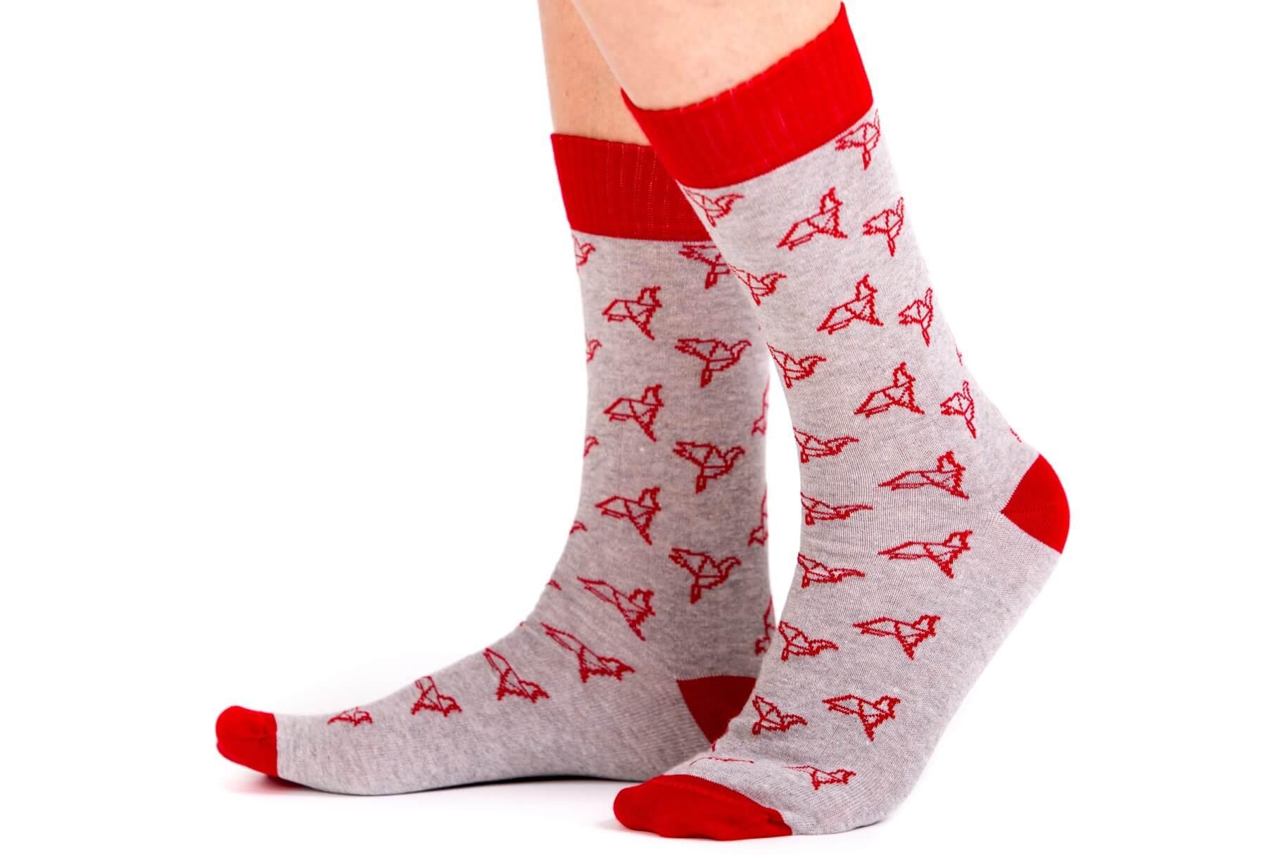 calcetines pajaritas