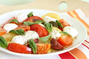 Receta de ensalada capresaitaliana