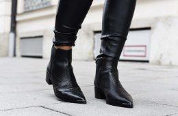 Cómo combinar tus botines negros este otoño