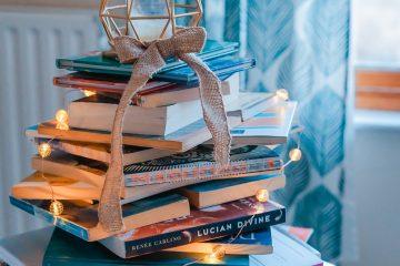 formas creativas de decorar con libros
