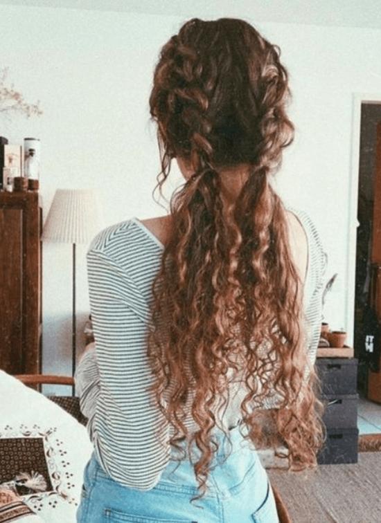 Peinados chic para cabellos rizados
