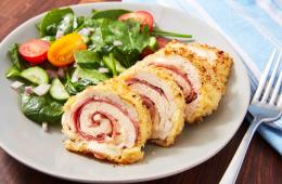 receta de pollo cordon bleu