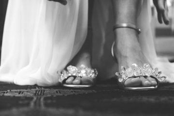 lo bueno y lo malo de usar tacones en el día de tu boda