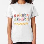 camisetas con mensajes feministas