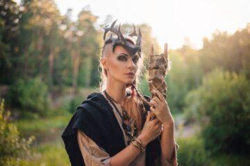 maquillaje Vikingo