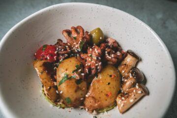 receta de patatas horneadas con ajo