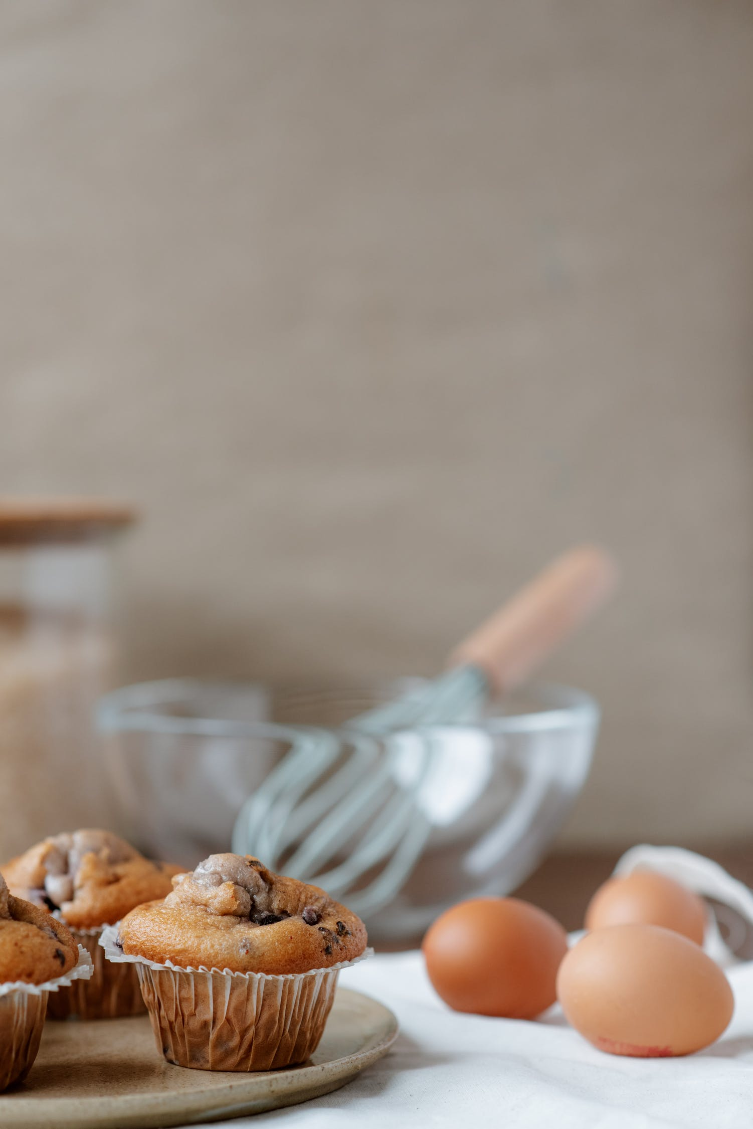 magdalenas de arándanos