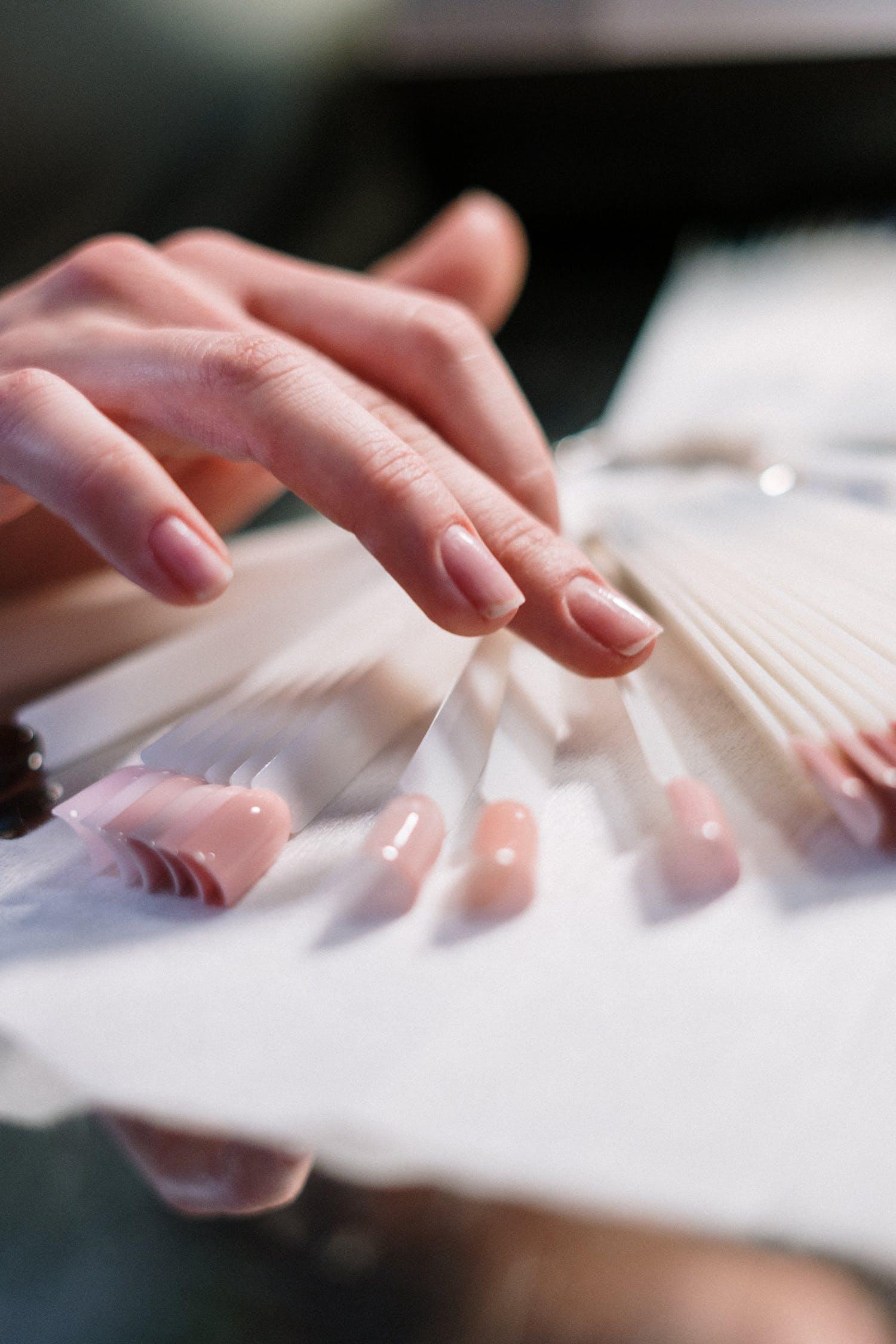 uñas artificiales